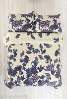 Urban Outfitters Paisley Blossom Duvet Cover +1 Standard Sham Twin XL Blue Multi
