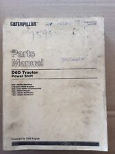 OEM Catapillar D6D Tractor Powershift Parts Manual Catalog Book