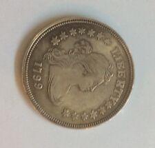 Silver Coin America Liberty Coin 1799 38gr