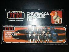 ~VTG~1977~1983~Kenner~Star~Wars~Chewbacca~Bandolier~Strap~figures~weapons~case~~