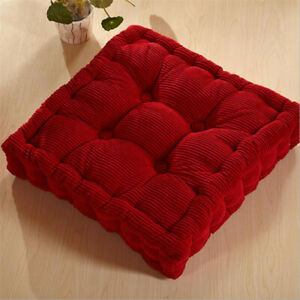Square Thicken Chair Cushion Seat Pads Office Dining Garden Home Patio Sofa Mats