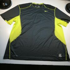 NIKE PRO COMBAT DRI FIT FITTED ATHLETIC GYM VENTED JERSEY TEE T SHIRT Mens XXL