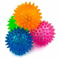 1 x 65mm Flashing Spikey Massage Ball Sensory Therapy Autism Stress Toy