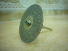 "10 pcs 30mm (1 3/16"" inch) THK Diamond coated rotary cutting cut off blade wheel"