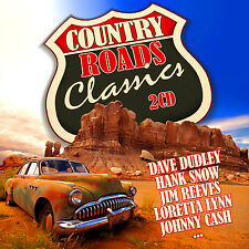 CD Country Roads Classics von Various Artists 2CDs incl. Dave Dudley, Hank Snow