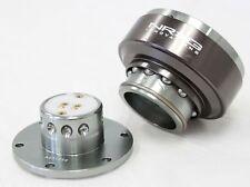 Nrg Steering Wheel Gen 20 Quick Release Adapter Gunmetal Body Amp Titanium Ring