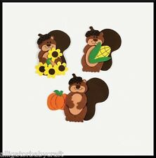 Fall Friends Squirrel Magnet Craft Kit for Kids ABCraft Autumn Party Favor Idea