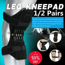 2PCS POWER LEG Kneepad Power Joint Support Knee Pads Rebound Spring Force US