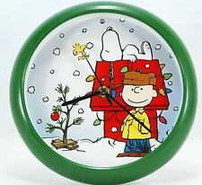 Peanuts Charlie Brown Christmas/Holiday Clock- plays a  carol each hour - NEW!