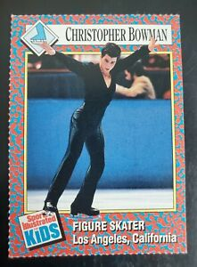 Christopher Bowman RC Ice Figure Skating Sports Illustrated for Kids SI For Kids