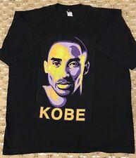Kobe Bryant Portrait T-shirt Lakers Black Sz *XLarge XL