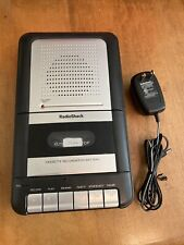Radio Shack 14-109 Portable Tape Cassette Player Recorder. Tested