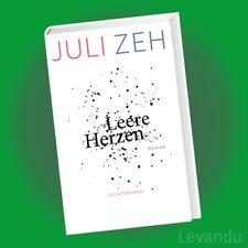 LEERE HERZEN   JULI ZEH   Roman / Thriller (Gebundene Ausgabe) - NEU