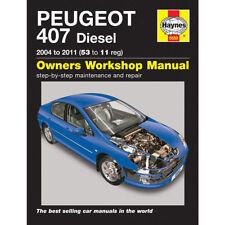 Peugeot 407 Haynes Car Manuals and Literature