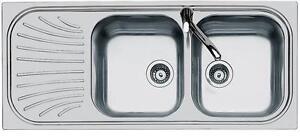 Lavello Inox Foster >> serie ALIEN Incasso Standard 1912 061 DX COME DA FOTO