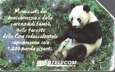 39-Scheda telefonica animali che lasciano un vuoto 31/12/2003 lire 5.000 € 2,58
