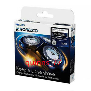 Replace RQ11 shaving head Philips Norelco SensoTouch RQ1180.1160X.1150X,new