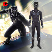DFYM Movie Black Panther Cosplay T'Challa Costume Full Set Custom Made Any Size