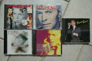 Bowie 6 CDs ChangesBowie Black Tie 1. Outside Singles Coll. Sound & Vision MINT-