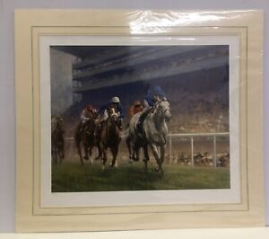 Ascot - Limited Edition *Mounted*  Graham Isom
