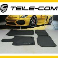 -30% NEU+ORIG. Porsche Panamera 971 Fußmatten Velours schwarz / Floor mats black