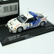 MINICHAMPS FORD RS 200 RALLY SWEDEN GRUNDEL/MELANDER 430868008