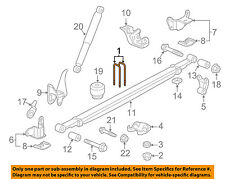 GM OEM Rear Suspension-U-bolt 11610959