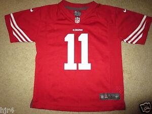 San Francisco 49ers #11 Smith NFL Football Jersey Boys L 7 Youth