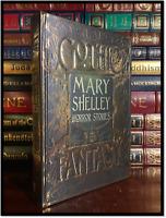 Mary Shelley Gothic Horror Stories New Deluxe Hardback Frankenstein Vampyre