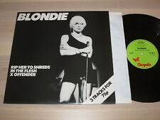 BLONDIE EP LP - RIP HER TO SHREDS / CHS 2180 UK PRESS in MINT UNPLAYED