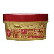 Eco Styler Styling Gel Agran Olive Oil Black Seed Coconut Hair Gel No Flack Tack