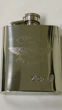 75th Sturgis Rally Commemorative Zippo 3 oz Stainless Steel High Polish Flask