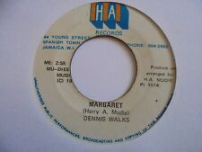 "New ListingDennis Walks Margaret Mudies Reggae 7"" Hear"