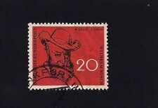 German Stamp 1958 The 50th Anniversary of the Death of Wilhelm Busch (D4)