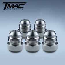 Aluminium Alloy Weld On Fittings Dash -8 AN / JIC - 5 pack