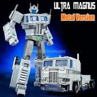 "Downsized Masterpiec MP10V G1 Ultra Magnus White Optimus Prime 8"" Action Figure"