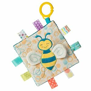Mary Meyer E1 Baby Taggies 6.5in Crinkle Me Fuzzy Buzzy Bee Toy 41531