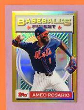 2020 Topps Baseball's Finest Flashback Amed Rosario GOLD /50