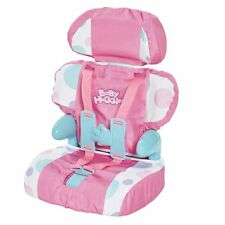 Cadson Car Seat and Booster with Seatbelt for Dolls and Stuffed. Free Shipping