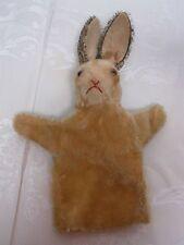 """Vintage Steiff 11 1/2"""" Bunny Rabbit Puppet"""