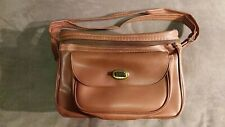 Old vintage camera case bag photographer photography accessory brown 2 pocket