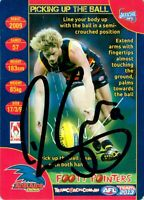 ✺Signed✺ 2013 ADELAIDE CROWS AFL Card RORY SLOANE Footy Pointers