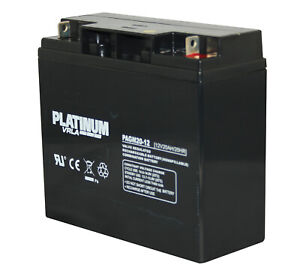 Platinum 12V 20AH VRLA AGM Sealed Battery Replace LONG WP20-12IE battery