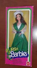 Barbie IRISH Dolls of the World NRFB 1983 vintage superstar steffie pj