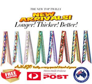 AMIGO Twilly Hot Multi-Use Mini Scarf Wrist Head Band Bag Ribbon Bow Tie Wrap S8