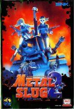 Neo Geo AES Spiel - Metal Slug 2 Spiel - 362 Megs JAP Modul
