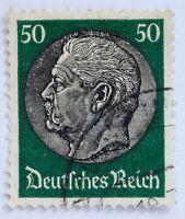 Deutsches Reich 1933 Hindenburg 50 Pfennig,gestempelt