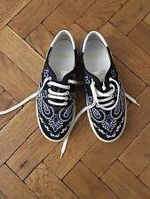 Saint Laurent Impreso zapatillas de lona Talla 42
