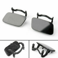 1PCS Left/Right Front Bumper Faro Lavadora Gorra Cover Jet Para Audi A4 B8 2008,