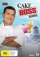 Cake Boss : Season 6 Collection 1 (DVD, 2015, 2-Disc Set) NEW